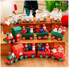 discount mini wooden christmas tree decorations 2017 mini wooden