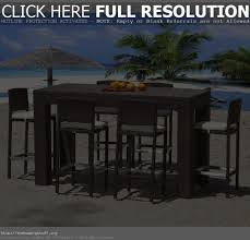 High Chair Patio Furniture High Top Patio Furniture With 4 Chairs Patio Decoration