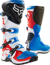 red dirt bike boots fox racing comp 5 fiend se boots mx atv motocross off road dirt