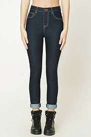 High Waisted Colored Jeans Women U0027s Skinny Jeans Distressed High Waist More Forever21