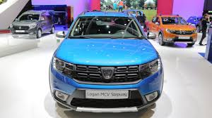 renault lodgy modified logan mcv stepway the star of dacia u0027s stand at 2017 geneva motor