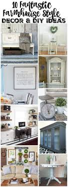 10 FARMHOUSE STYLE DECOR & DIY IDEAS PLACE OF MY TASTE