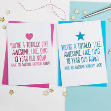 awesome birthday cards totally awesome birthday card personalised by a is for alphabet