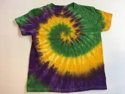 mardi gras tie mardi gras spiral tie dye kids shirt all sizes