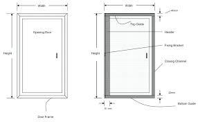 Closet Door Size Standard Interior Door Sizes Opening Closet Doors Average