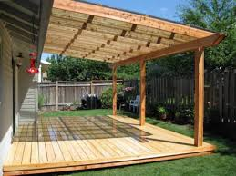 Backyard Awnings Ideas Wood Patio Cover Ideas Design Coverings Outside Awning Covered