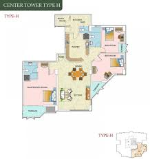 787 Floor Plan by Torino Skyline In Wattala Colombo Apartments In Torino Skyline