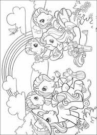 pony coloring pony craft printable pictures