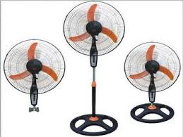 Good Quality Pedestal Fans Powerful Wind Business Fan 18 Inch Heavy Duty Industrial Fan 3 In
