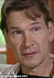 Patrick Swayze loses cancer battle at      Daily Mail Online Daily Mail Tearful  Mr Swayze wept as he admitted his fears of the disease in an interview