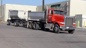 semi truck manufacturers end dump truck semi truck transfer dumps peterbilt kenworth
