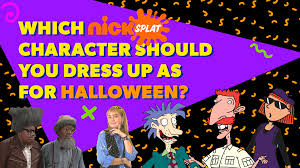 which nicksplat character should you dress up as for halloween