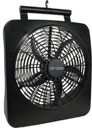 o2cool 10 inch battery or electric portable fan o2cool battery operated fan with ac adapter for hurricane storm