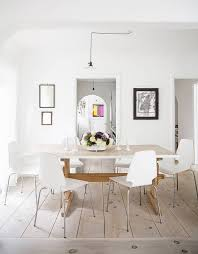 Best Dining Rooms Images On Pinterest Dining Room Live And - All white dining room