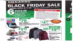 menards black friday sale ad