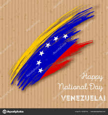 Venezuela Flag Colors Venezuela Independence Day Stock Vectors Royalty Free Venezuela