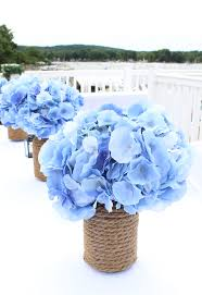 faux hydrangeas from afloral com make stunning wedding