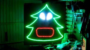 Singing Christmas Tree Lights Het Aalsters Kerstlichtje Test Singing Christmas Tree Youtube