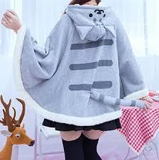cat sweater neko atsume cat sweater hoodie cloak cape sp168276 spreepicky