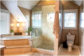 Attic Bathroom Ideas Cream