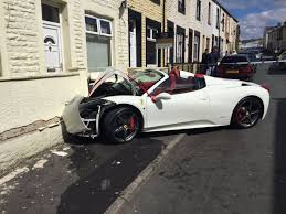 platinum executive travel images Self styled 39 lord 39 has his 240 000 ferrari spider wrecked by jpg