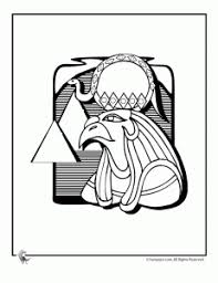 ancient egypt coloring page egyptain patterns to color egyptian animal coloring3 231x300