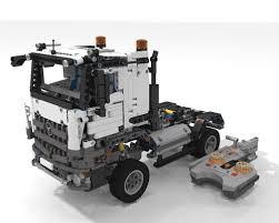 lego technic 2017 lego moc 6228 42043 b mercedes benz arocs 1845 advanced u0026 rc