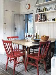 chaises cuisine bois chaise peinte en kök chaises peintes