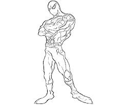 amazing spider man coloring kids coloring