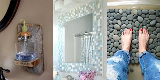 bathroom diy ideas bathroom fascinating 20 easy diy bathroom decor ideas images of