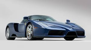 cars ferrari blue beautiful blue ferrari enzo sells for 2 4m at auction update