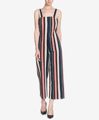 cotton jumpsuit catherine catherine malandrino striped cotton jumpsuit