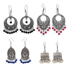 metal earings earrings online upto 80 on designer earrings jhumka gold