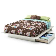 delightful contemporary smooth sanded pine wood twin size bed with