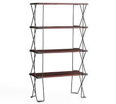 dublin stackable shelving unit single rosario brown inventory