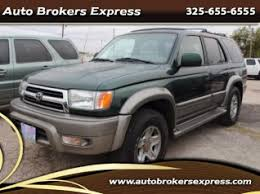 how much is a 1999 toyota 4runner worth used 1999 toyota 4runner for sale 24 used 1999 4runner listings