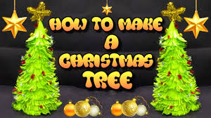 how to make a christmas tree christmas tree decoration craft for
