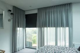 install curtain on blinds remarkable how to put rod over