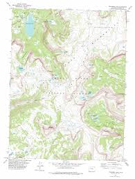 Denver Colorado On Map by Trappers Lake Topographic Map Co Usgs Topo Quad 39107h2