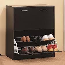shoe rack two tier cappuccino shoe rack closet storage organizer