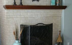 see inside brick fireplace stovers