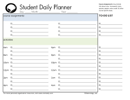 printable homeschool daily planner student daily planner printable tire driveeasy co