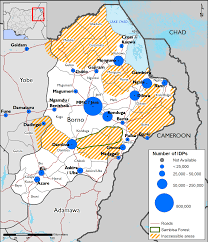 The Sahel Map Northeast Nigeria Maps And Mapping Data Fewsnet Food Security