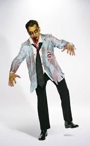 Zombie Costume Zombie Businessman Costume Mens Halloween Costumes Value Village