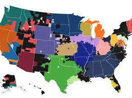 Nba Map Map The Most Popular Mlb Team In Every County Business Insider