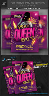 tutorial dance trap queen trap queen party flyer by 1jaykey graphicriver
