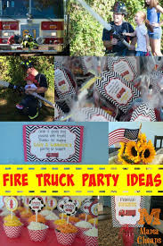 truck birthday party truck birthday party ideas cheaps
