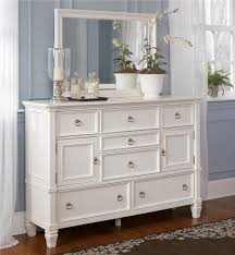 Ashley Greensburg Bedroom Set Millennium Prentice Dresser With Doors And Mirror Combination