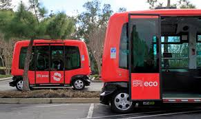 san ramon driverless shuttles make their debut