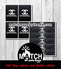 Chanel Party Decorations Coco Chanel Birthday Party Ideas Photo 5 Of 5 Catch My Party